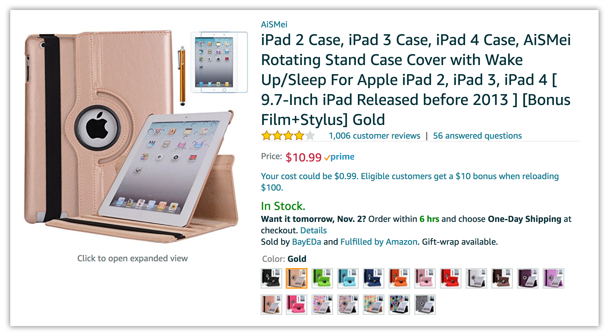 iPad case amazon