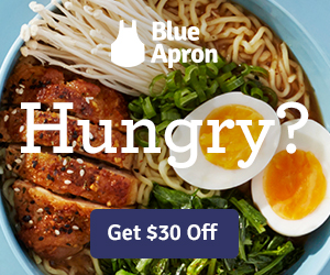 Blue Apron Display Ad 1