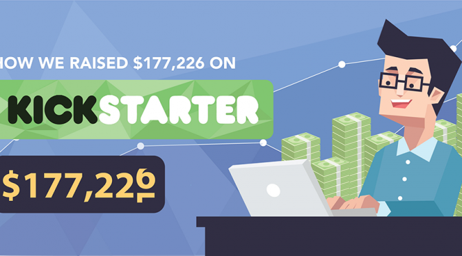 How We Raised $177,226 on Kickstarter – and Got in Men's Health